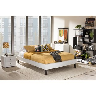 Newport Upholstered Platform Bed by Ebern Designs