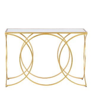 Montgomery Geometric Console Table By Canora Grey