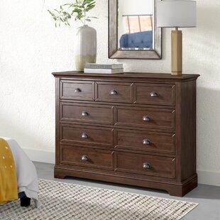 Appleby 9 Drawer Double Dresser By Greyleigh