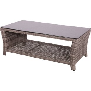 Soho Rattan Coffee Table By Lesli Living