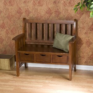 Gaskell Wood Storage Bench