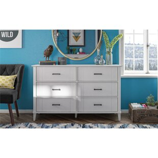 Hazelridge 6 Drawer Double Dresser