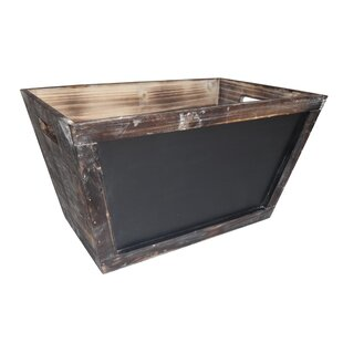 Best Since Large Wood Storage Bin By Cheungs