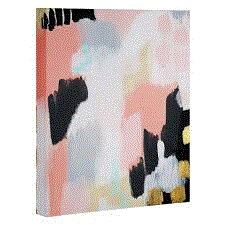 East Urban Home Footprints Painting Print On Wrapped Canvas Wayfair