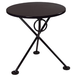 European Café Folding Side Table