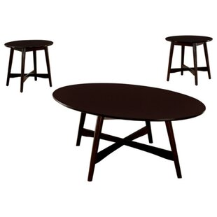Jeffrey 3 Piece Coffee Table Set