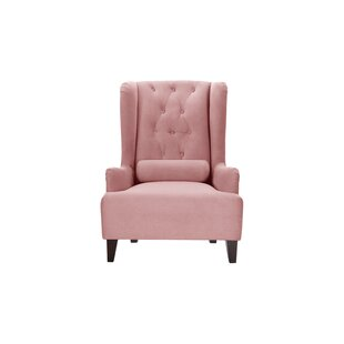 Goggans Wingback Chair By Ophelia & Co.