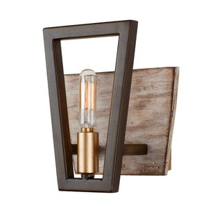 Jayde 1-Light Bath Sconce by Wrought Studio