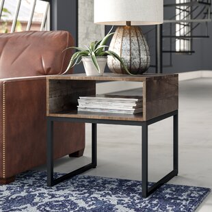 Barnhart End Table by Williston Forge