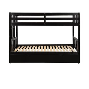 Muro Twin over Twin Bunk Bed with Trundle by Harriet Bee