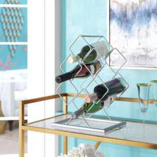 Aramis 6 Bottle Tabletop Wine Bottle Rack..
