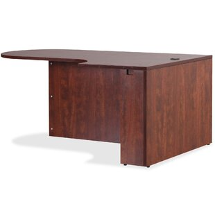 Essentials Laminate Desk Shell by Lorell Wonderful