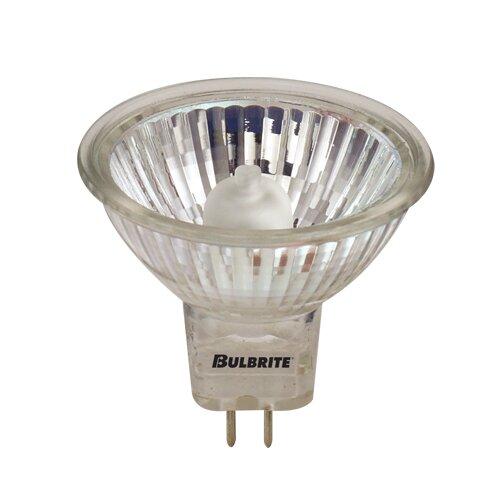 Bulbrite Industries 50w Mr16 Halogen Dimmable Light Bulb 2900k Gu5 3 Bi Pin Base Wayfair