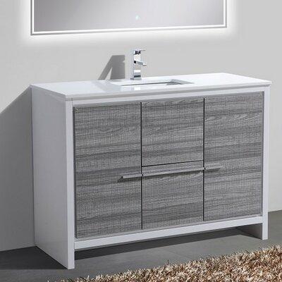 Bosley 48 Single Sink Modern Bathroom Vanity