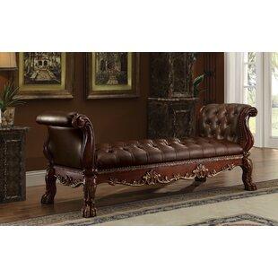 Astoria Grand Frederic Genuine Upholstere..