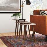 Stanton 3 Piece Nesting Tables by AllModern