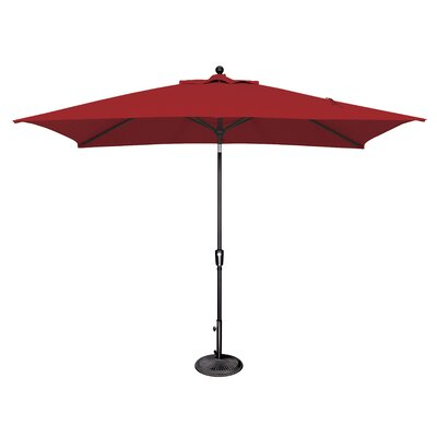 Launceston 6.5 X 10 Rectangular Market Umbrella by Sol 72 Outdoor Wonderful