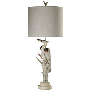 Coupon Aubrielle Heron Statue 35 Table Lamp By Highland Dunes
