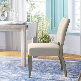 Willsey Upholstered Dining Chair (Set of 2) Ophelia & Co.