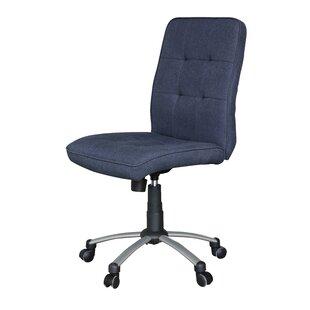 Navy Blue Tufted Desk Chair Wayfair