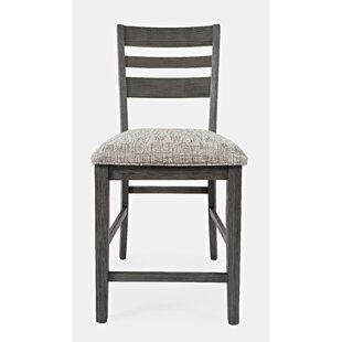 Berea Ladderback Counter 24 Bar Stool (Set of 2) Ivy Bronx