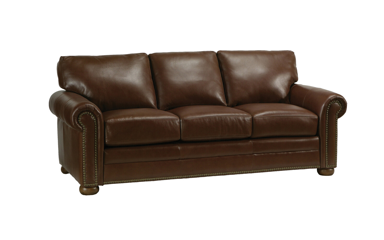 Omnia Leather Savannah Leather Sleeper Sofa U0026 Reviews | Wayfair