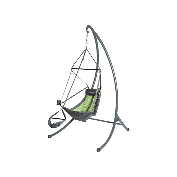 Eagles Nest Outfitters SkyPod Hanging Chair Stand Charcoal ENO