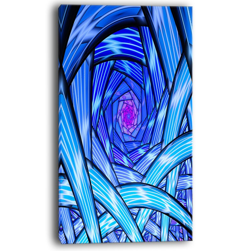 Mysterious Psychedelic Fractal Pattern- trippy psychedelic wall art
