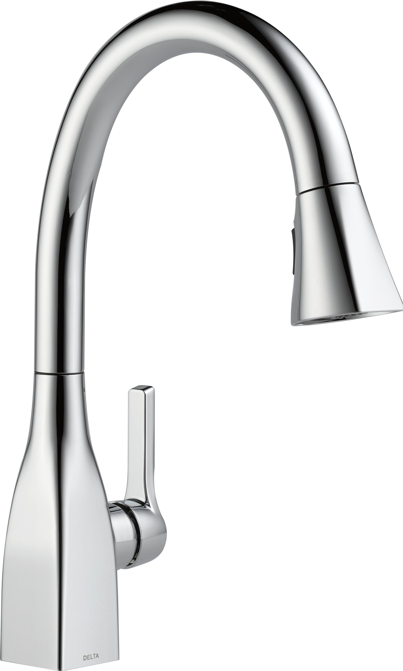 Mateo Pull Down Touch Single Handle Kitchen Faucet with MagnaTite