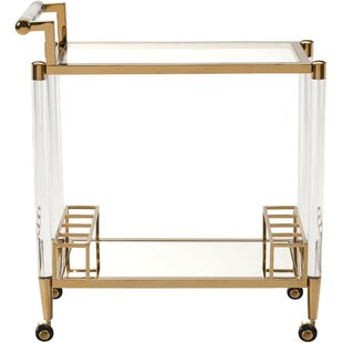 Everly Quinn Kautz Bar Cart