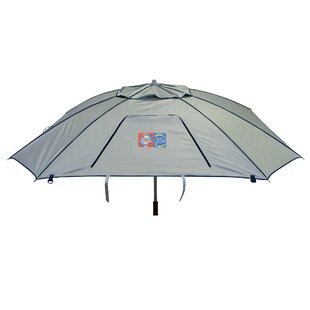 Total Sun Block Extreme Shade 8 ft. Beach Umbrella by Rio Brands
