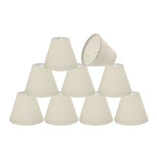 6'' Fabric Empire Lamp Shade (Set of 9)