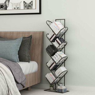Frisbie Tree Geometric Bookcase by Ebern Designs