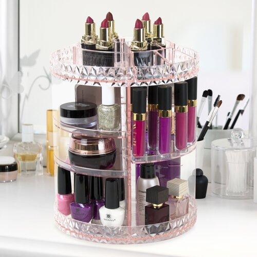 Rotating Cosmetic Organizer