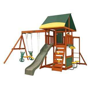 KidKraft Brookridge Wooden Swing Set