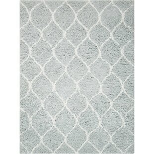 Affordable North Moore Hand-Tufted Gray Area Rug By Brayden Studio