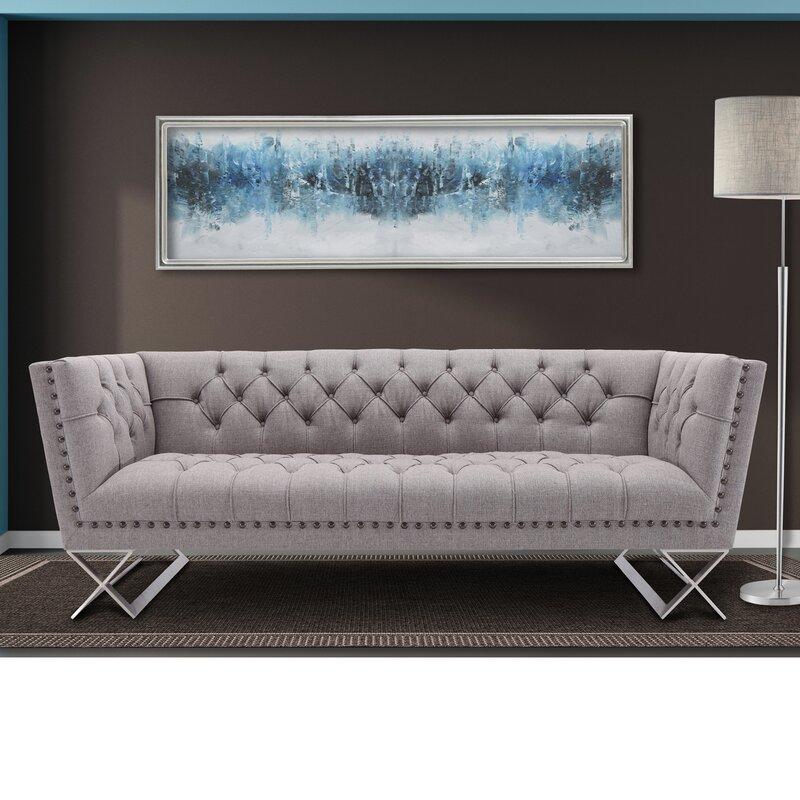 Borchert Contemporary Chesterfield Sofa