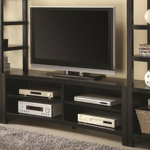 Brimmer Minimal Wooden TV stand for TVs up to 60