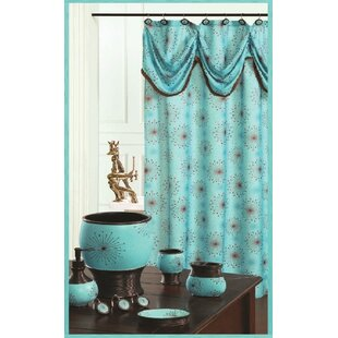 Inexpensive Dante Decorative Shower Curtain By Daniels Bath