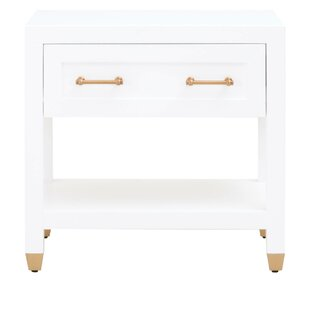 Skelmersdale 1 Drawer Nightstand by Everly Quinn