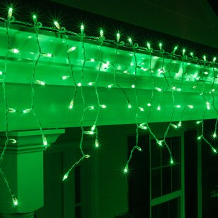 Green Christmas Lights.Incandescent Green Christmas Lights You Ll Love Wayfair
