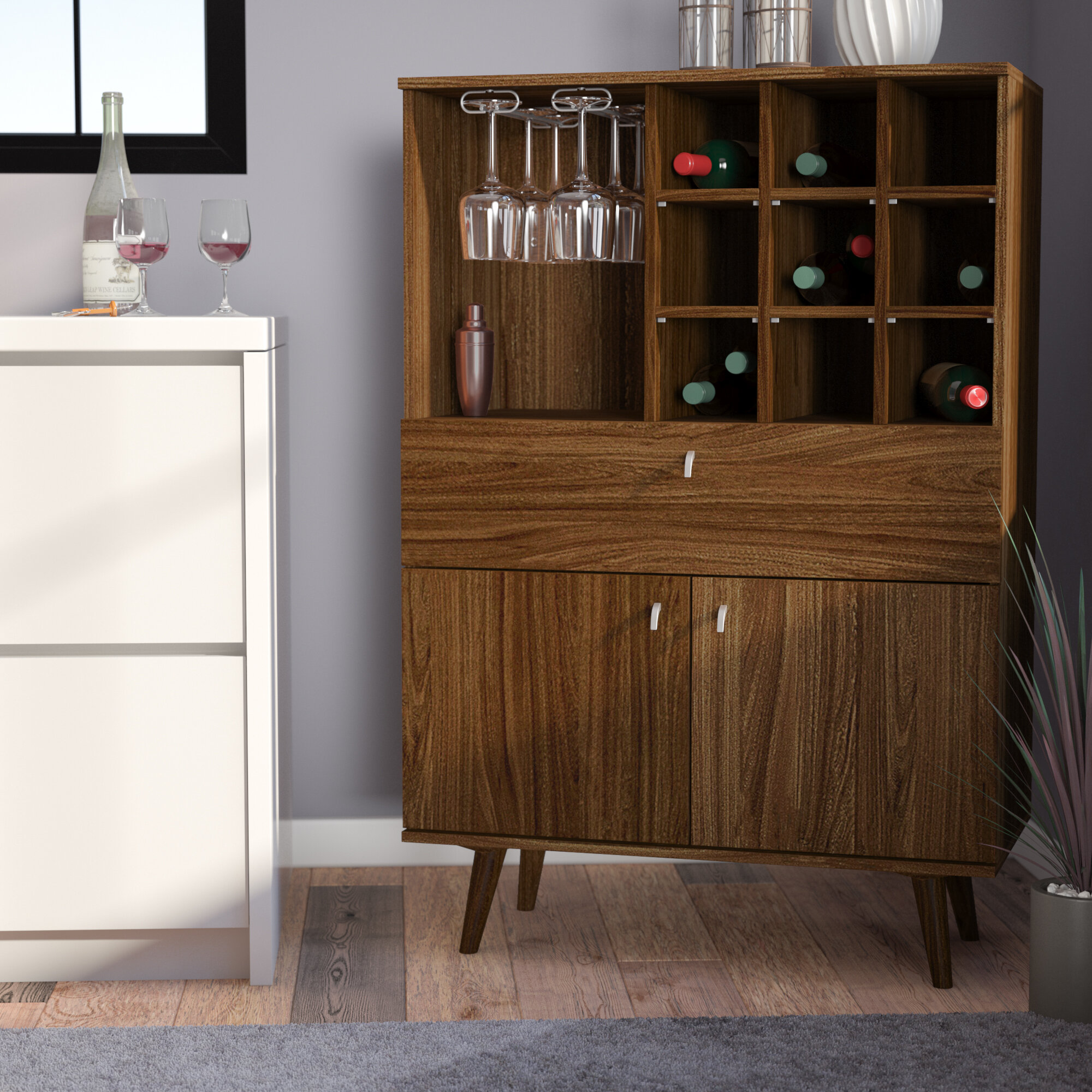 Swell Gianna Bar Cabinet Lamtechconsult Wood Chair Design Ideas Lamtechconsultcom
