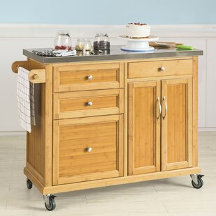 Keper Kitchen Cart By Brambly Cottage