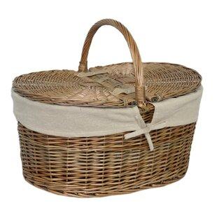 Deep Oval Picnic Basket By Brambly Cottage