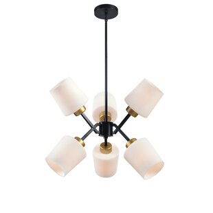 Ivy Bronx Duncanson 6-Light Chandelier