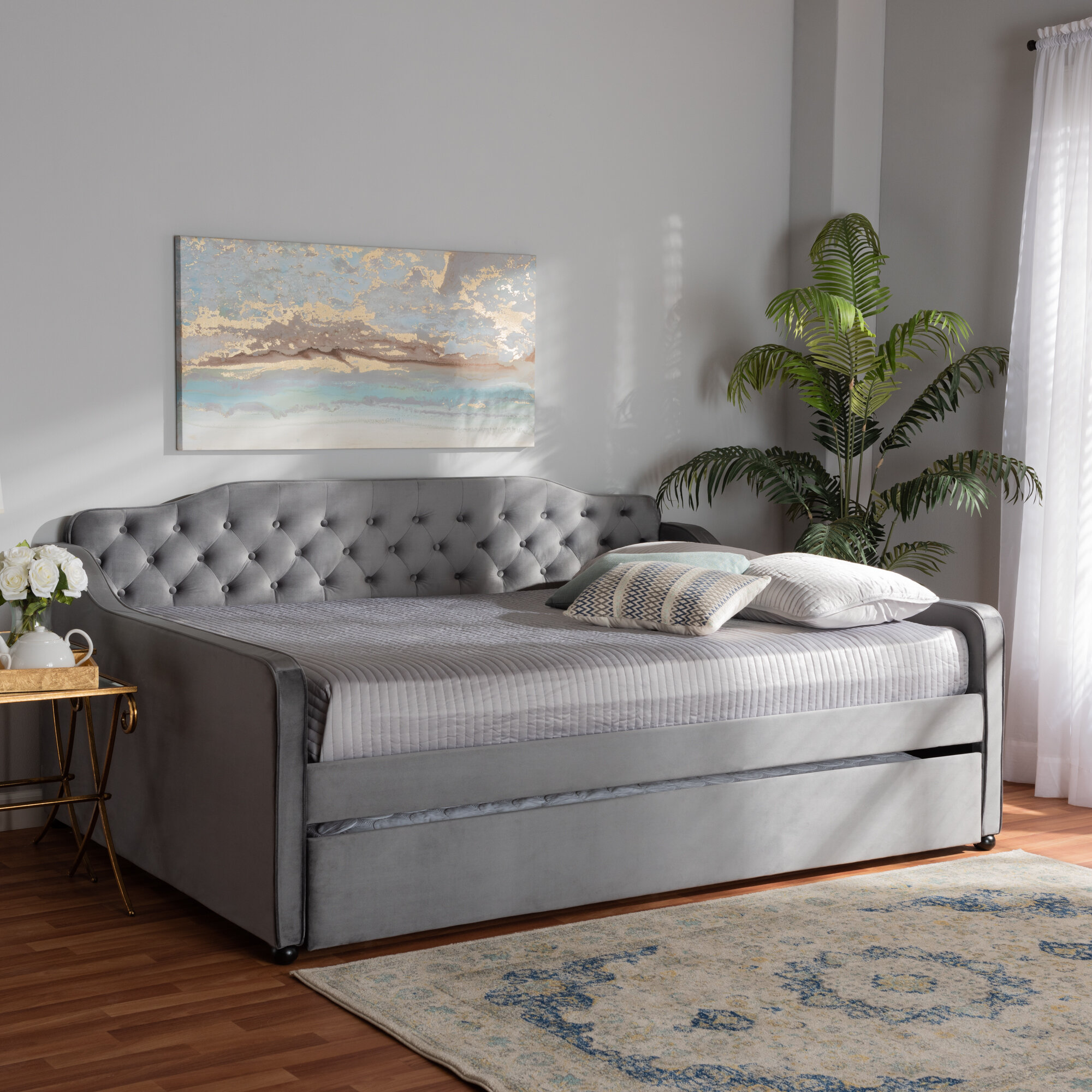 Rosdorf Park Whitnash Daybed With Trundle Reviews Wayfair