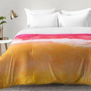 East Urban Home Laura Trevey Tangerine Tie Dye Comforter Set