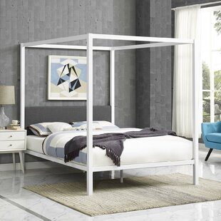 Ferro Queen Canopy Bed by Ivy Bronx