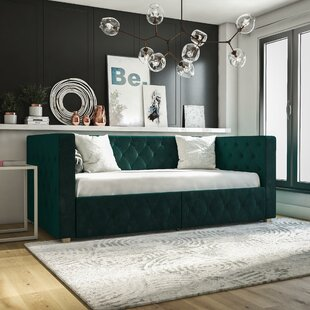 Charlotte Daybed with Storage by CosmoLiving by Cosmopolitan