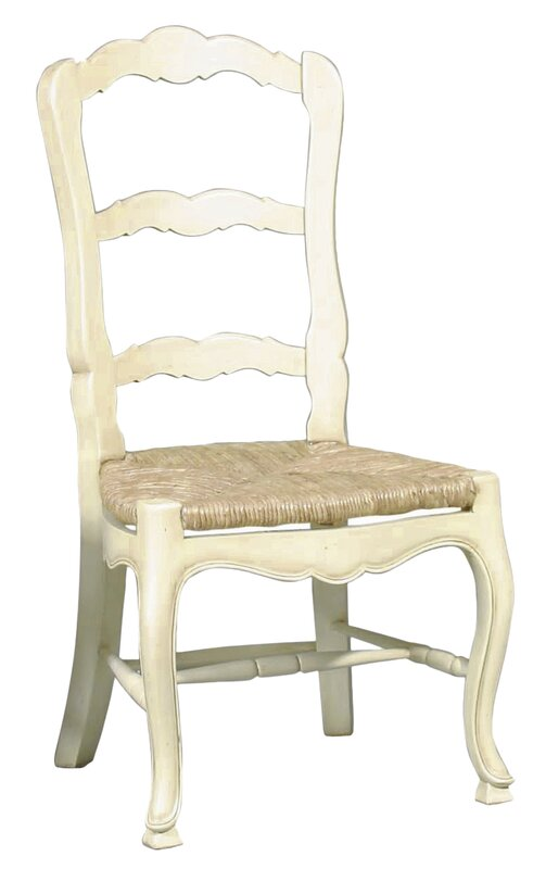 French Country Ladderback Solid Wood Dining Chair